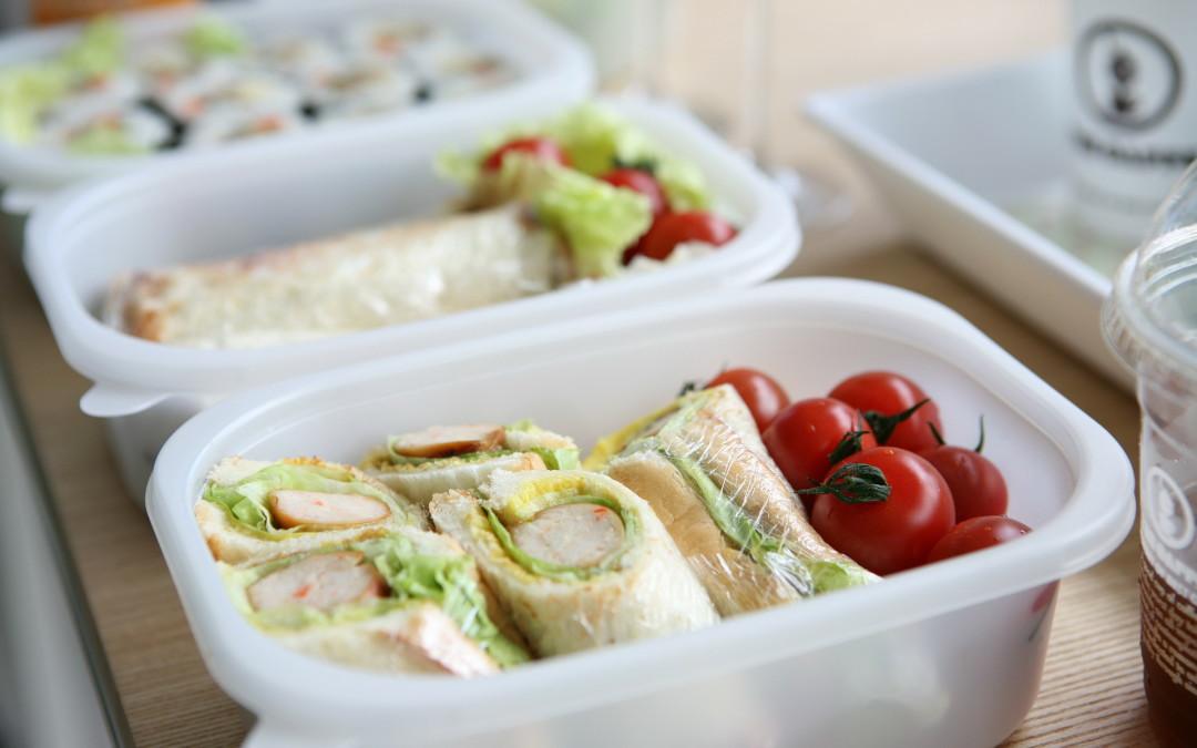 Relevez le défi boîte à lunch!